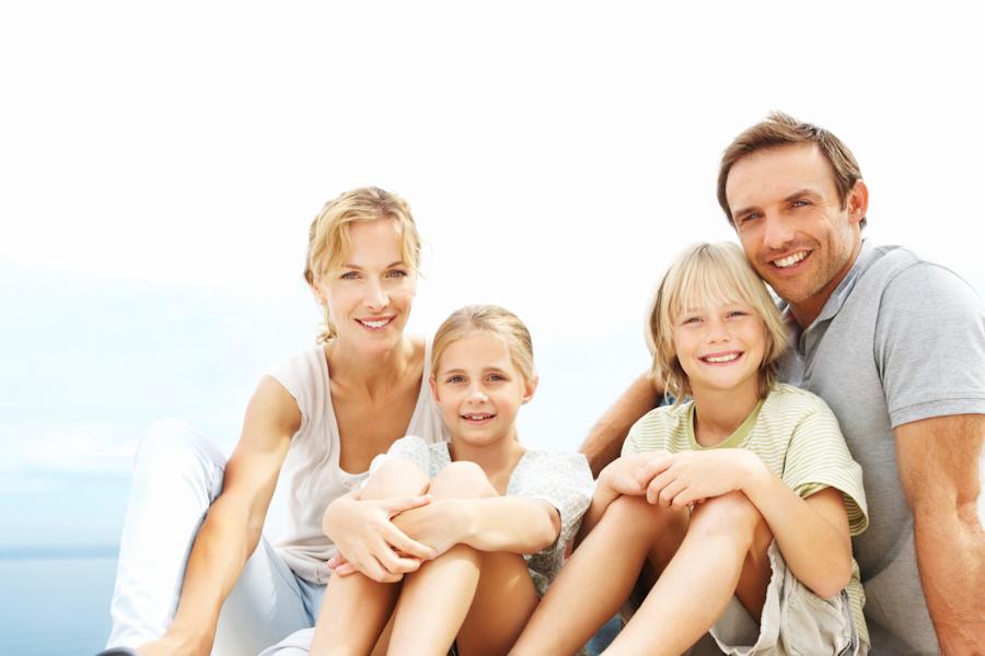 Картинка счастливой семьи